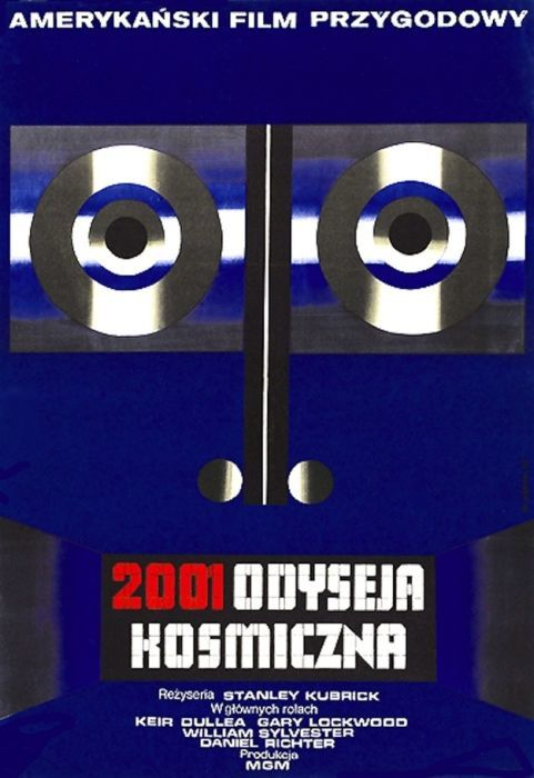 2001 A Space Odyssey Beautiful Polish film posters for banned American films
