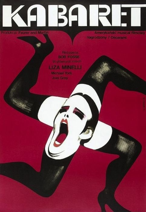Cabaret Beautiful Polish film posters for banned American films