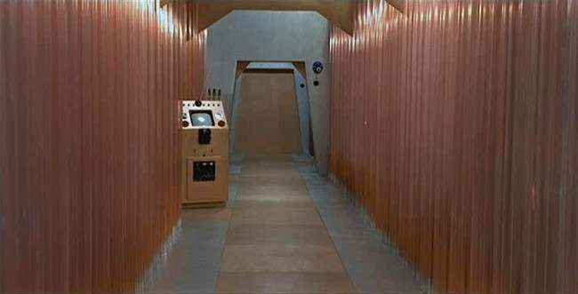 Dr. Who and the Daleks 1965 Gordon Flemyng The most unforgettable corridors in sci fi   in photos