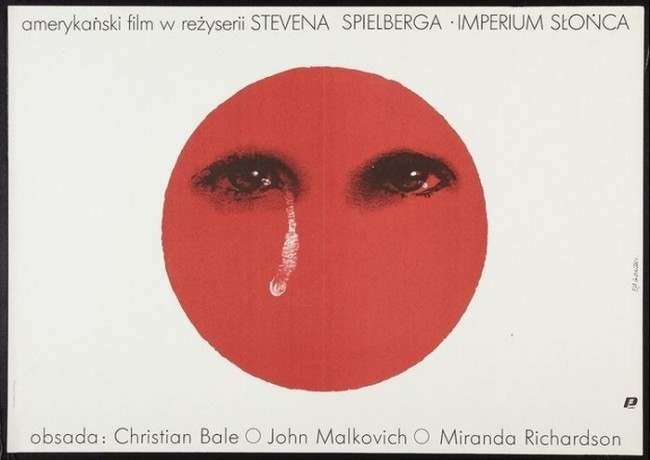Empire of the Sun Beautiful Polish film posters for banned American films