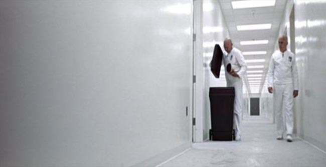 George Lucas's THX 1138 The most unforgettable corridors in sci fi   in photos