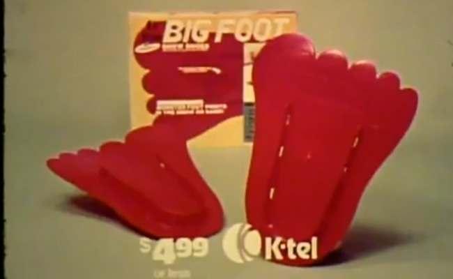 K-tel big foot