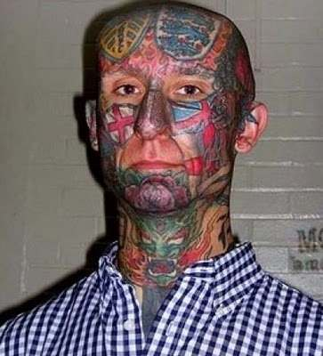 Most Unusual And Weird Face Tattoos 14 1295320001 Face tattoos   the big collection of regretful ink
