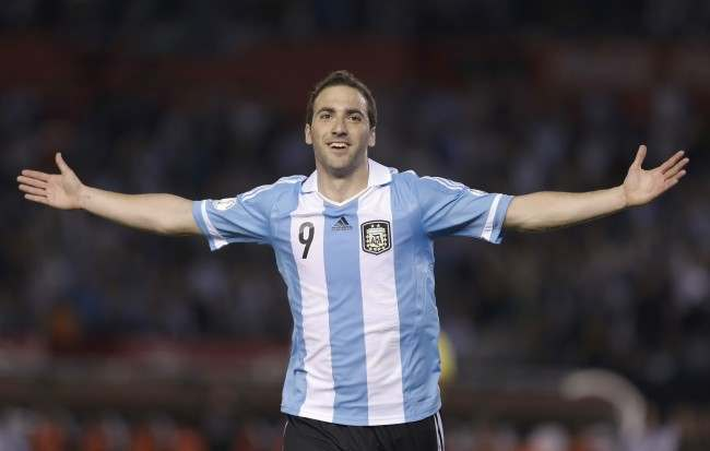 PA 16115315 Gonzalo Higuain: new Arsenal striker loses £50,000 a week (news round up)
