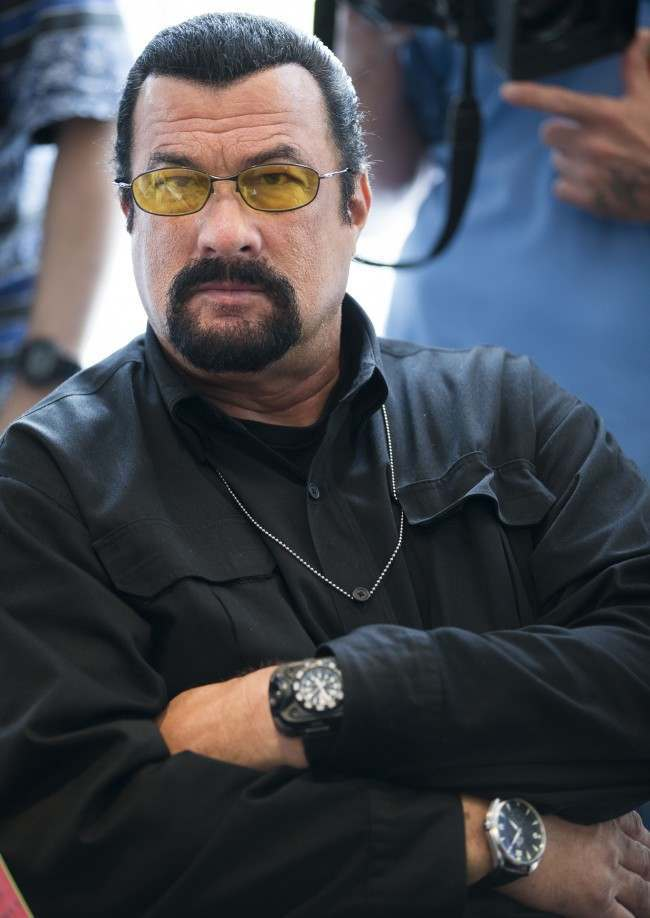 PA 16693475 WTF: Steven Seagal leads U.S. Congressional delegation to Russia