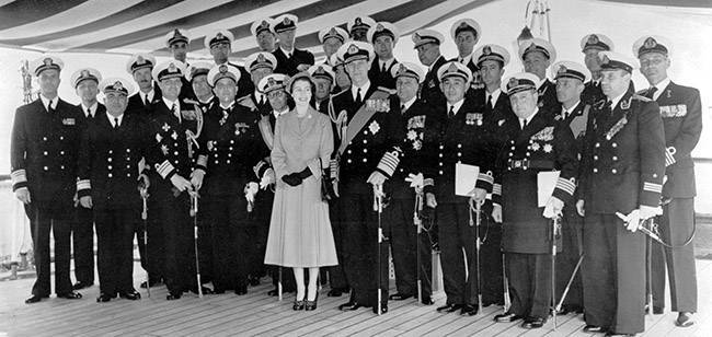 PA 1720801 1 Photos and video: The Coronation Review of The Fleet at Spithead, 1953
