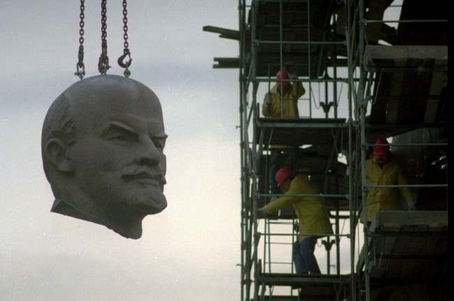 PA 2655655 In photos: the changing face, hair and statues of Lenin