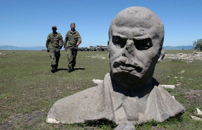 PA 7371515 In photos: the changing face, hair and statues of Lenin