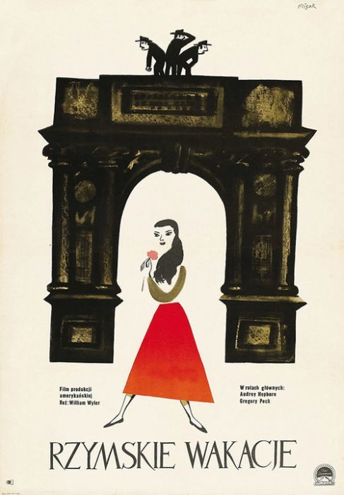 Roman Holiday Beautiful Polish film posters for banned American films