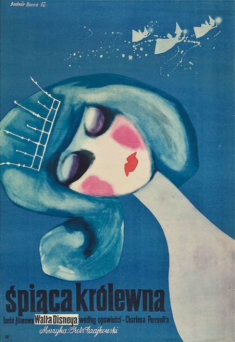 Sleeping Beauty Beautiful Polish film posters for banned American films