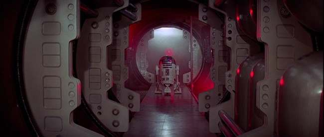 Star Wars Episode IV A New Hope 1 1977 George Lucas The most unforgettable corridors in sci fi   in photos