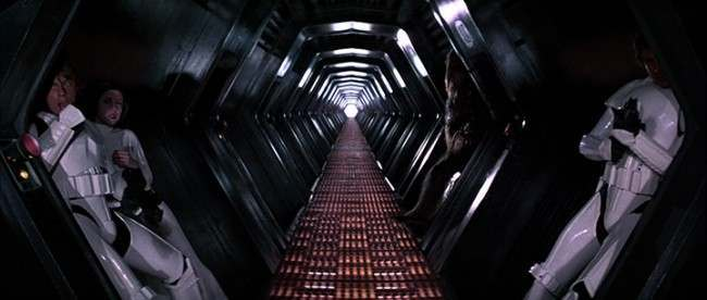 Star Wars Episode IV A New Hope 1977 George Lucas The most unforgettable corridors in sci fi   in photos