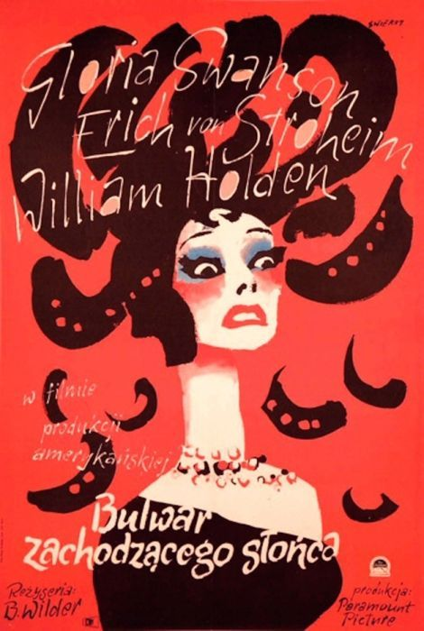 Sunset Boulevard Beautiful Polish film posters for banned American films