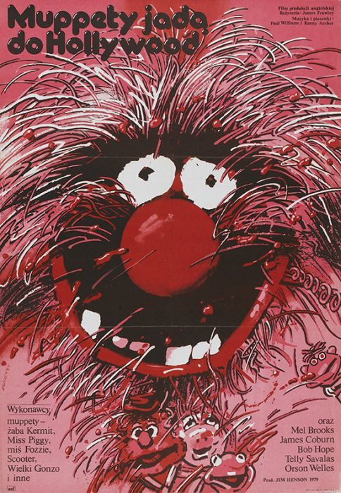 The Muppet Movie  Beautiful Polish film posters for banned American films
