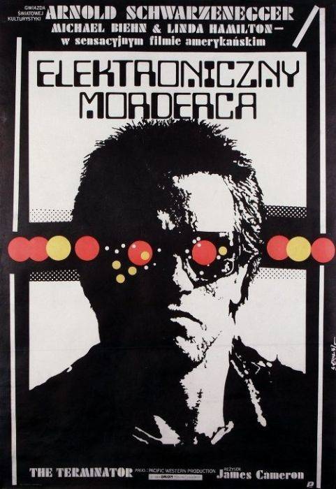 The Terminator Beautiful Polish film posters for banned American films