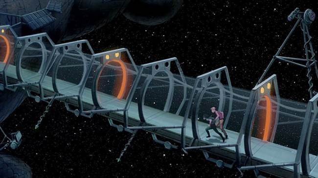 Titan A.E. 2000 Don Bluth and Gary Goldman The most unforgettable corridors in sci fi   in photos