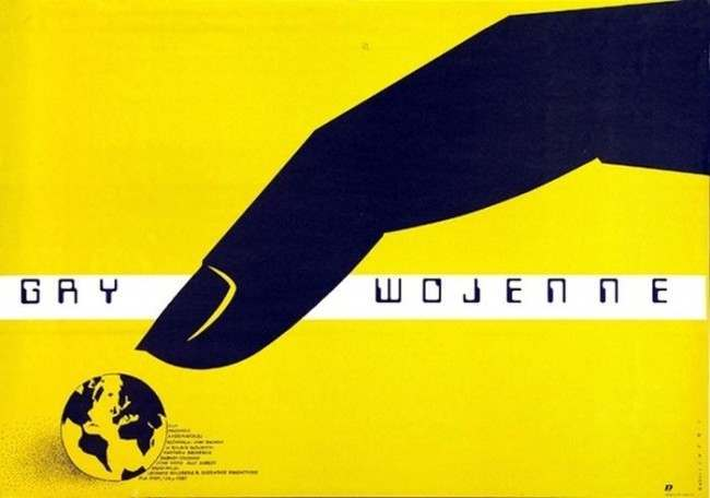 War Games  Beautiful Polish film posters for banned American films