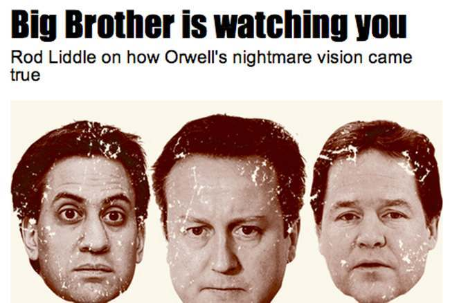 big brotehr sun After Leveson and hacking the Sun supports Prism and the Big Brother State