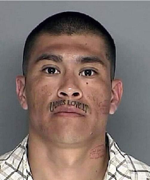 face tats 10 Face tattoos   the big collection of regretful ink