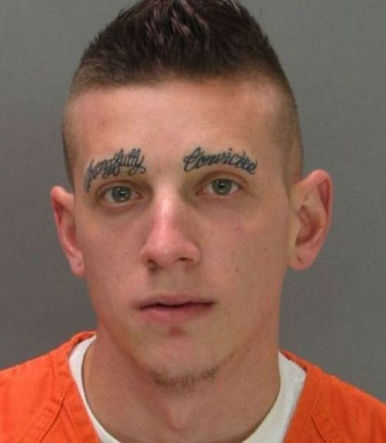 face tats 18 Face tattoos   the big collection of regretful ink
