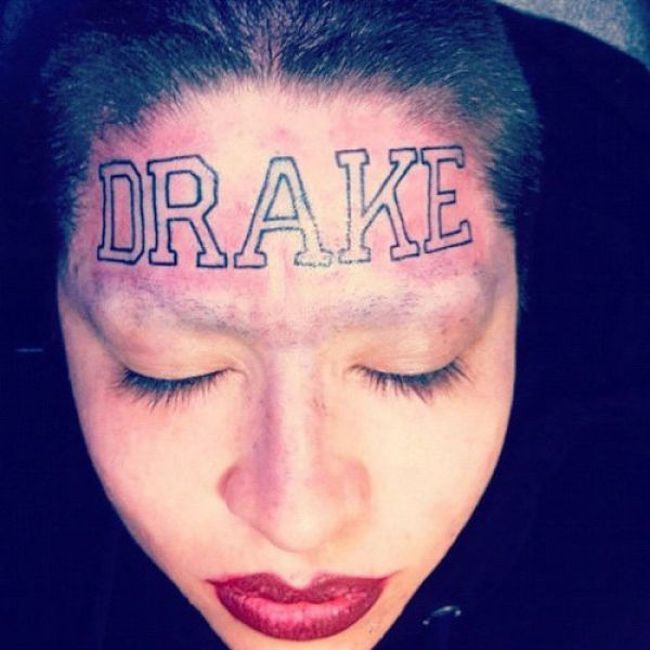 face tats 35 Face tattoos   the big collection of regretful ink