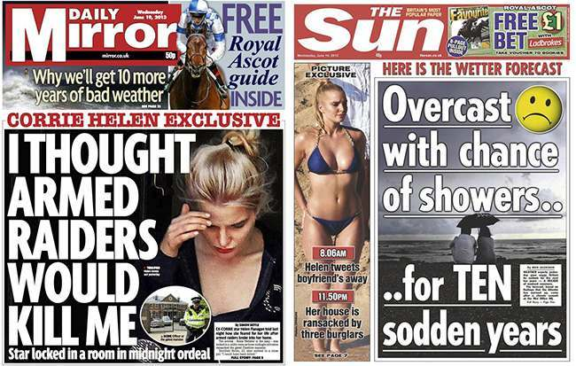 helen flanagan raid Topless Helen Flanagan survives burglary: bikini clad reality TV stars sportsman lover did not shoot her dead