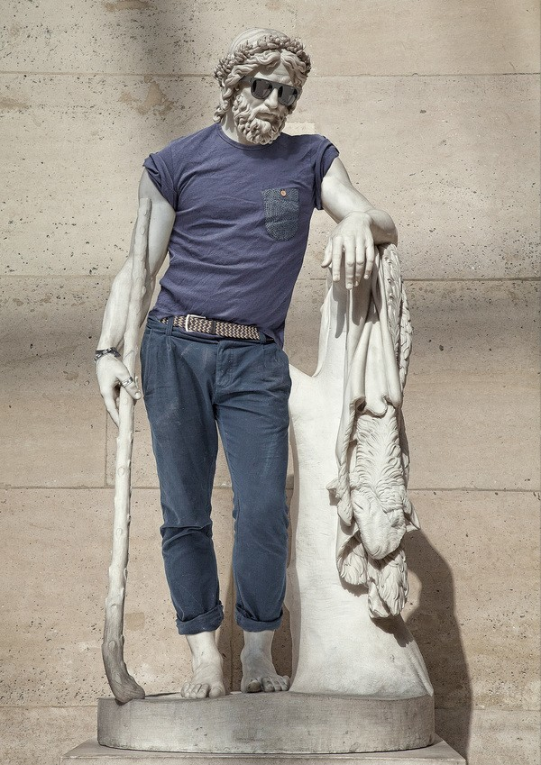 hipster statues 1