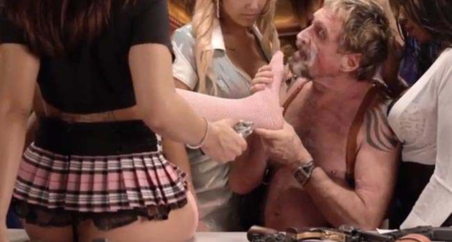 john mcafee uninstall John McAfee snorts bath salts and gropes hookers in How To Uninstall McAfee Antivirus