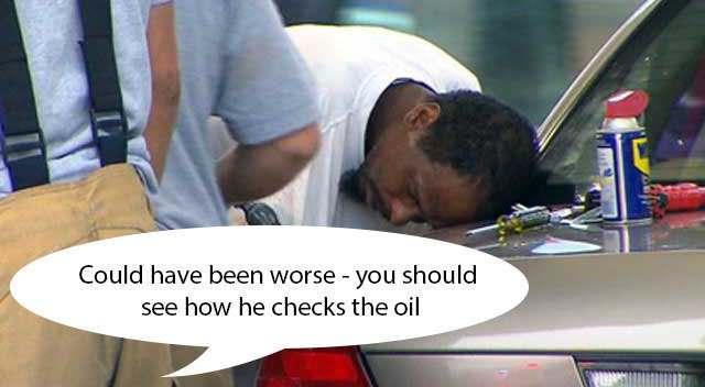 man petrol tank