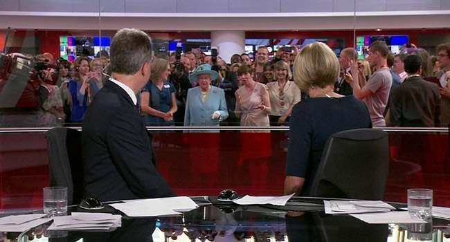 queen photobomb bbc