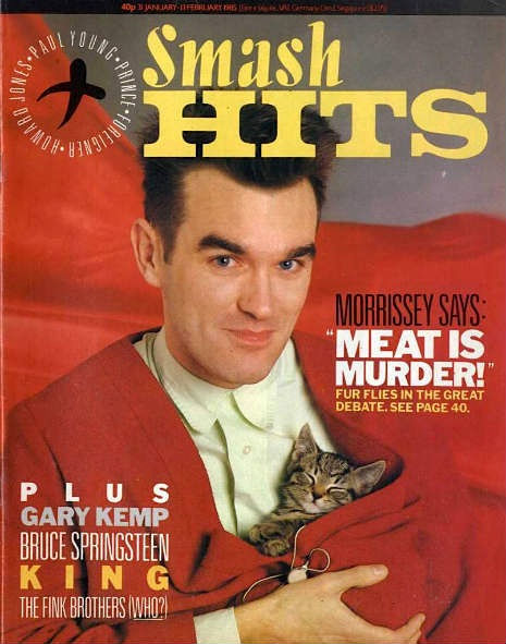 In 1984, Morrissey was invited by the editor of glossy pop mag Smash Hits to review the week's singles