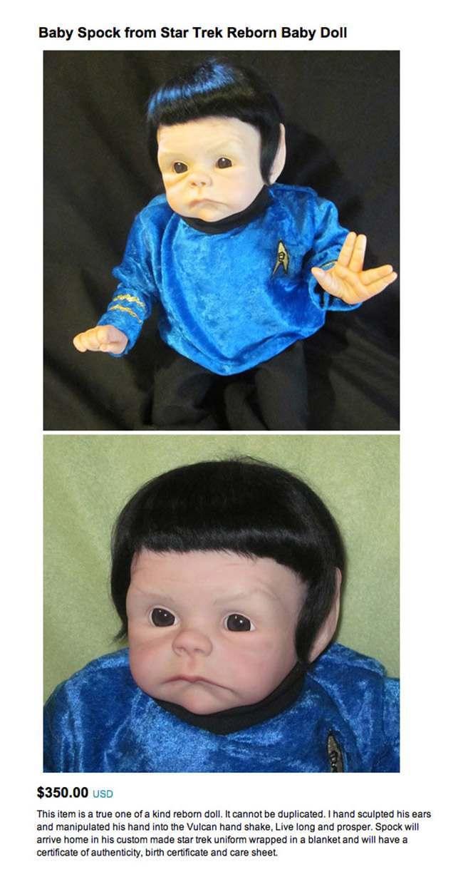 spock doll