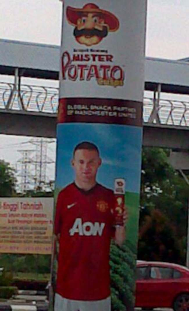 wayne rooney potato