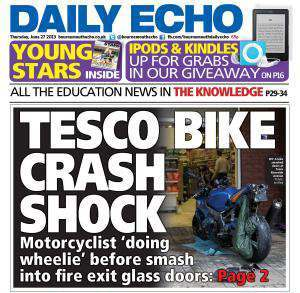 wheelie biker bournemouth