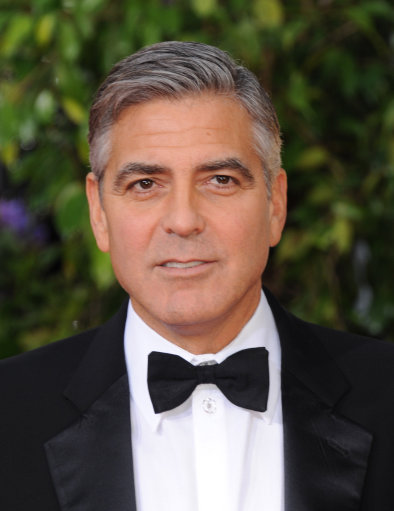 Actor George Clooney arrives at the 70th Annual Golden Globe Awards at the Beverly Hilton Hotel on Sunday Jan. 13, 2013, in Beverly Hills, Calif. (Photo by Jordan Strauss/Invision/AP)