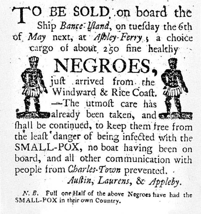 slave advert