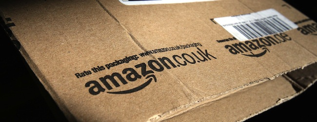 File photo dated 26/04/13 of the Amazon logo on a package as the online retail giant has broken advertising regulations with a description of a book promoting a vaccination-free childhood, the regulator has ruled.