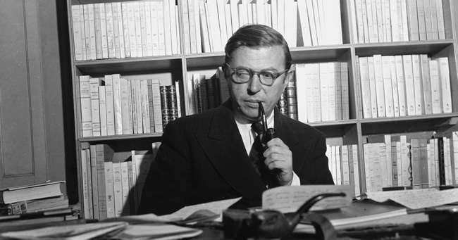Jean-Paul Sartre mescalin