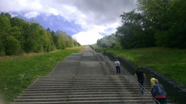 It is located in Landgraaf, Limburg, The Netherlands. It has 508 steps and is 248m long.