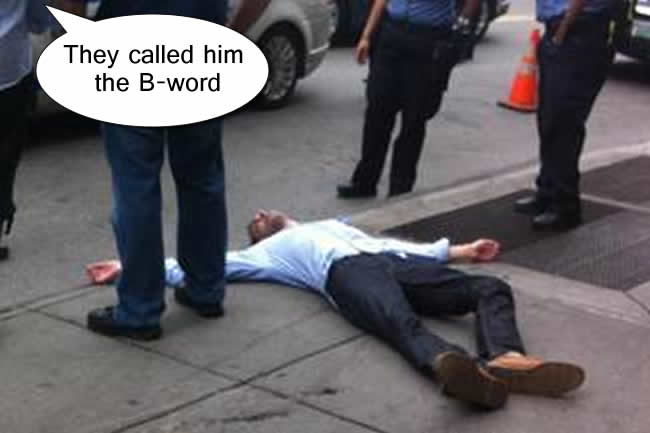 banker goldman sachs fight nigger