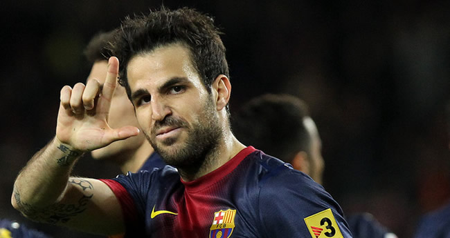 cesc Transfer balls: Manchester United target Fabregas teams up with Higuain at Arsenal