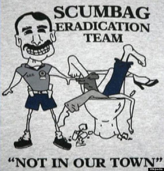 bad t-shirt police