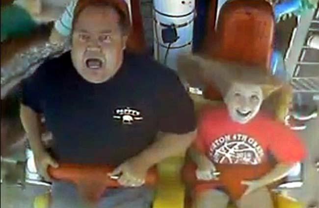 dad roller coaster