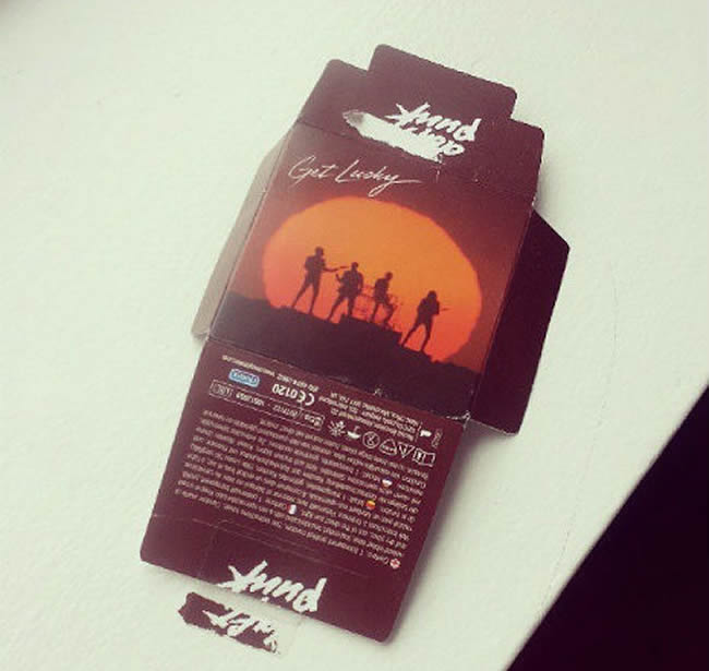 daft punk lucky condoms
