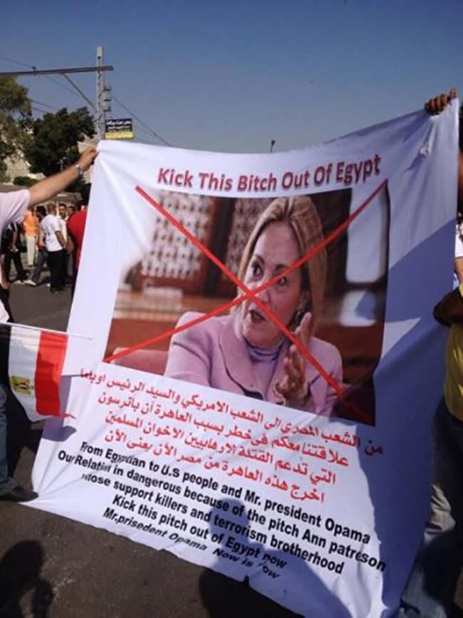 egypt 6 Egypt deposes the Muslim Brotherhood: the best Anti Obama banners