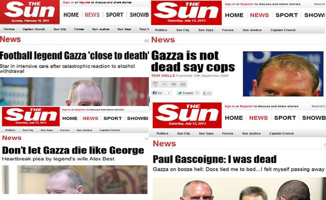 gascoigne dead