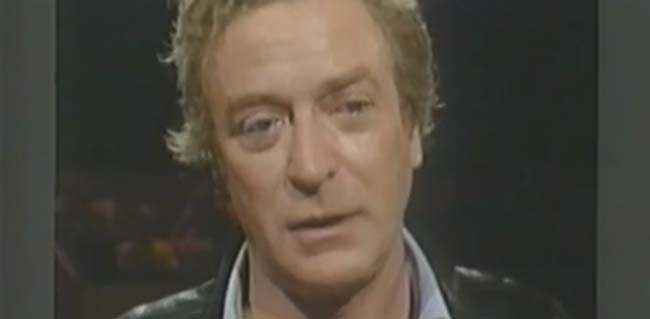 michael caine acting workshop