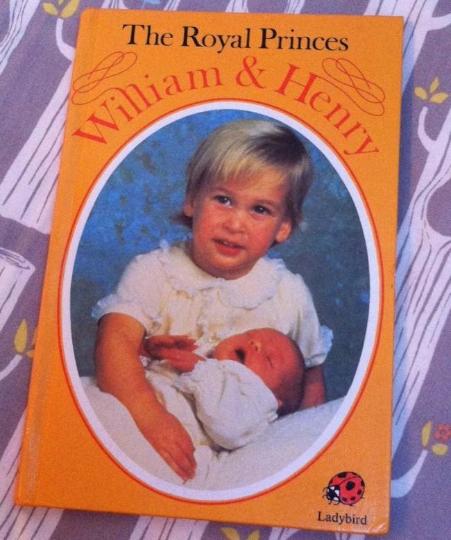 Royal baby book