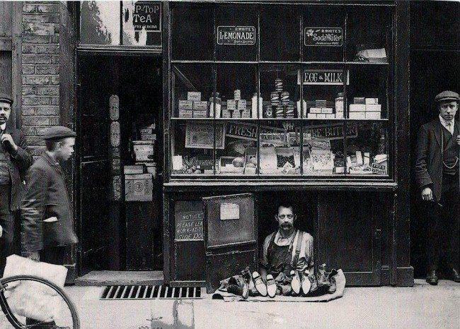smallest shop london