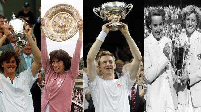 wimbledon winners forgotten Virginia Wade heads a list of British Wimbledon champions erased from the record books